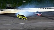 Kenseth spins, Stewart hits the wall in Kansas