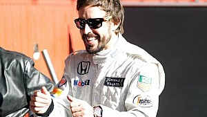 Drive a lap with the MP4/4 and Fernando Alonso