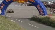 F1 car hits spectator