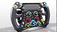 Volante-Computer: Hamilton semplifica rispetto a Rosberg