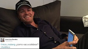 Nico's 2015 Spanish Grand Prix Twitter Q&A