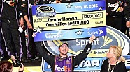 Hamlin holds off Harvick and wins one million