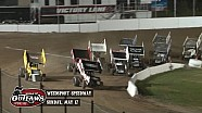 Highlights: World of Outlaws Sprint Cars Weedsport Speedway May 17th, 2015
