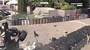 Серьезная авария ван Бурена и Бонифасиу в Монако