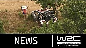 WRC - Rally Italia Sardegna 2015: Stages 1-5