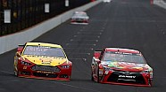Logano: 'I'm glad he's back, but geez'