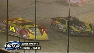 Highlights: Late Model Series Quincy Raceways July 23rd, 2015