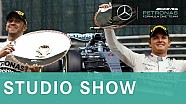STUDIO SHOW  - Belgian GP 2015 Review & new Mercedes rear wing explained