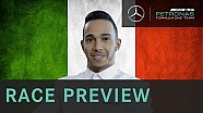 Lewis Hamilton 2015 Italian Grand Prix Preview, with Allianz