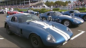 All 6 Shelby Daytona Coupes ever made race at Goodwood Revival