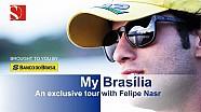 Un Tour en Brasilia con Felipe Nasr - Sauber F1 Team