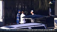 Kevin Harvick punches Jimmie Johnson in the chest
