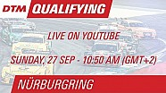 DTM Nürburgring 2015 - Qualifying (Race 2) - Live Stream