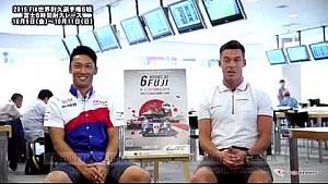 Interview with Audi Sport's Andre Lotterer and TOYOTA GAZOO Racing's Kazuki Nakajima