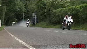 William Dunlop blows engine at Ulster