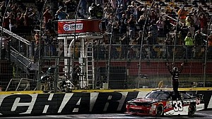 Austin Dillon completes the Charlotte sweep in Xfinity