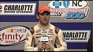 Daniel Suarez post race press conference