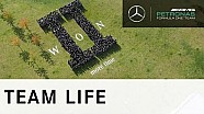Mercedes feiert den WM-Titel