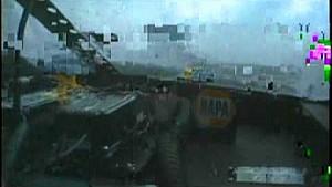 Michael Waltrip flips at Talladega in 2005