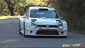 Test Volkswagen Polo R WRC 2017 - Marcus Grönholm