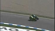 Валентино Росси и Сете Жибернау. Гран При Испании 2005 года