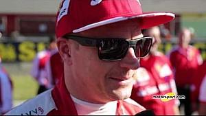 Ferrari World Finals | Exclusive interview with Kimi Raikkonen