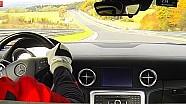 Mercedes SLS Onboard Acceleration Nürburgring Nordschleife V8 Sound Star Performance AMG