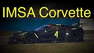 IMSA Corvette GTLM Testing at Sebring