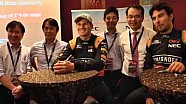 NEC: an evening with Nico and Checo