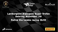 Lamborghini Blancpain Super Trofeo Europe/Asia 2015 - Sebring Highlights
