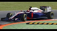 iRacing F1 Action at Monza: Mclaren mp4-30