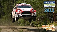 Rally Finland 2015 (Speed, Action, Mistakes and Crashes)