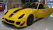 Ferrari 599XX Evoluzione in actie op Spa-Francorchamps