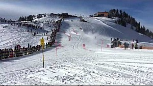 Max Verstappen F1 Snow Demo Red Bull RB7 Hahnenkamm, Kitzbühel, 14/01/2016