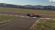 Sebastian Vettel testet in Fiorano