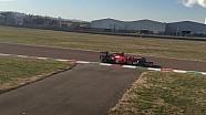 Sebastian Vettel, test a Fiorano