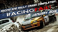 Racing and Rally Crash Compilation Week 05 January 2016