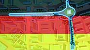 Le circuit de l'ePrix de Berlin en 3D