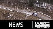 Rallye de Suède 2016 - Spéciales 1-4