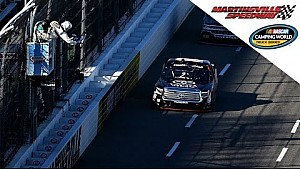 Kyle Busch ends drought, grabs first career win at Martinsville