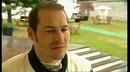 Jacques Villeneuve dans la Ferrari de son père à Goodwood