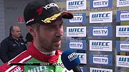 INTERVIEW - Tiago Monteiro wins the Opening Race