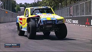 Stadium Super Trucks - Race 1 Highlights