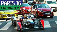 Jean-Eric Vergne Drives Formula E Car In Paris Traffic!