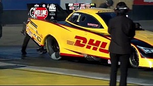 Tony Pedregon and Del Worsham go head to head in two very different Toyota Camry's