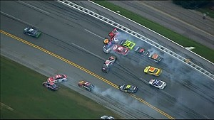 The Big One takes out 21 cars