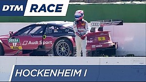 Molina spins out on his way to the pit stop - DTM Hockenheim 2016