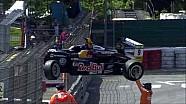 Лучшие моменты 3-й гонки Евро Ф3 в По