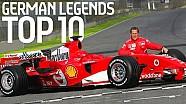Le 10 leggende del motorsport tedesco