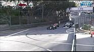 摩纳哥老爷车方程式大奖赛 吊车救援把价值连城的1973年迈凯轮M23从空中摔下,心疼呀